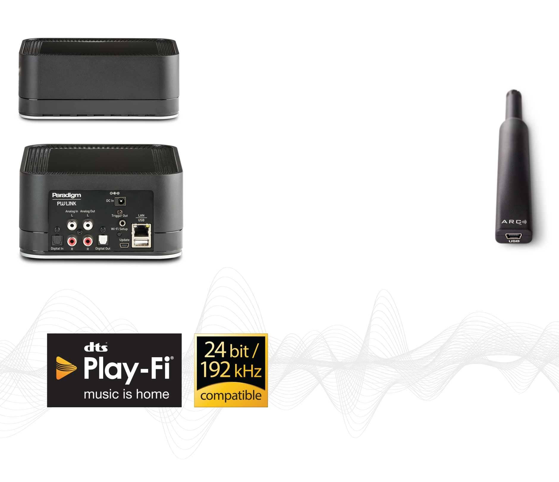 - Playfi Link Paradigm PW Link Paradigm Shift Series Premium Wireless