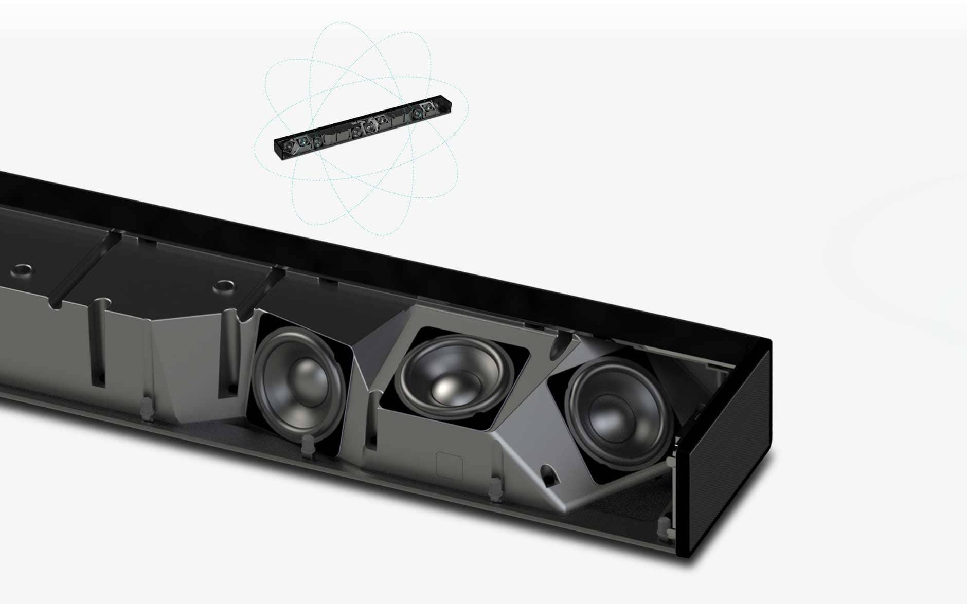 paradigm soundbar fully powered pw soundbar overview