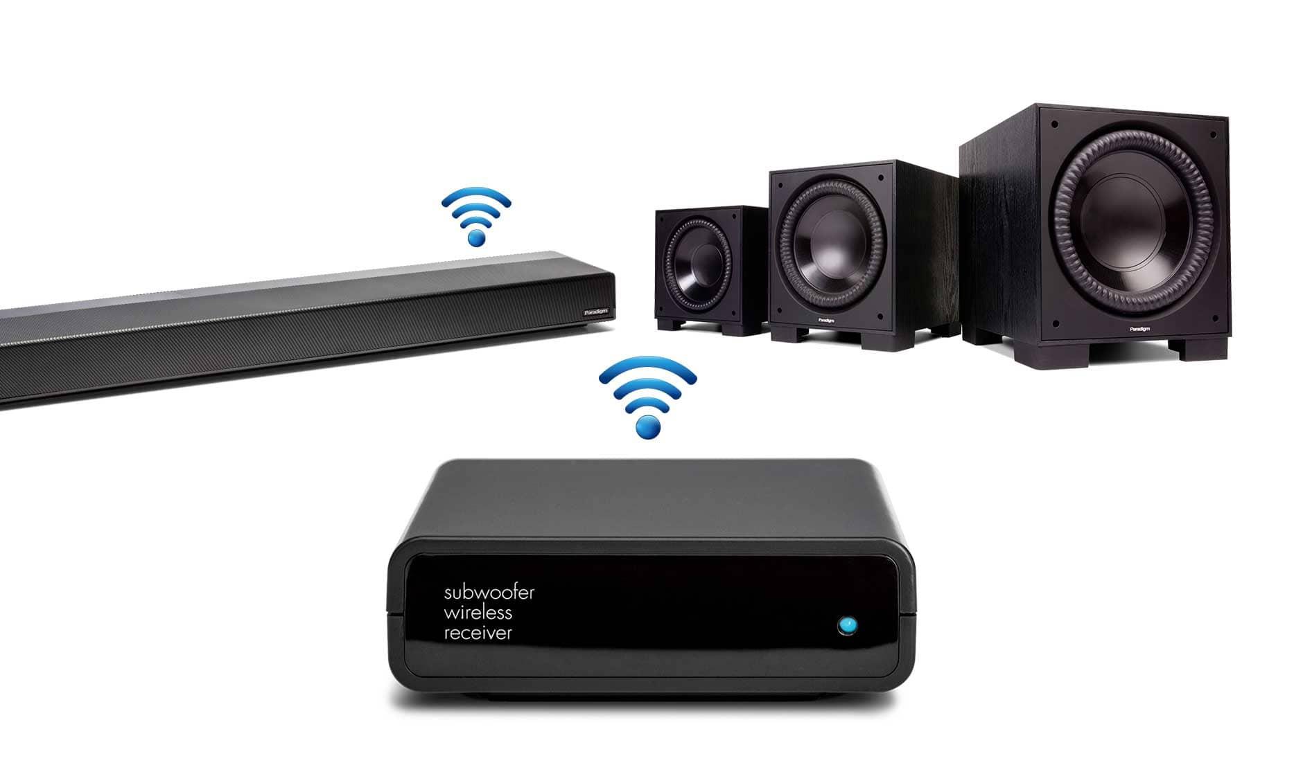 paradigm premium wireless series pw soundbar overview