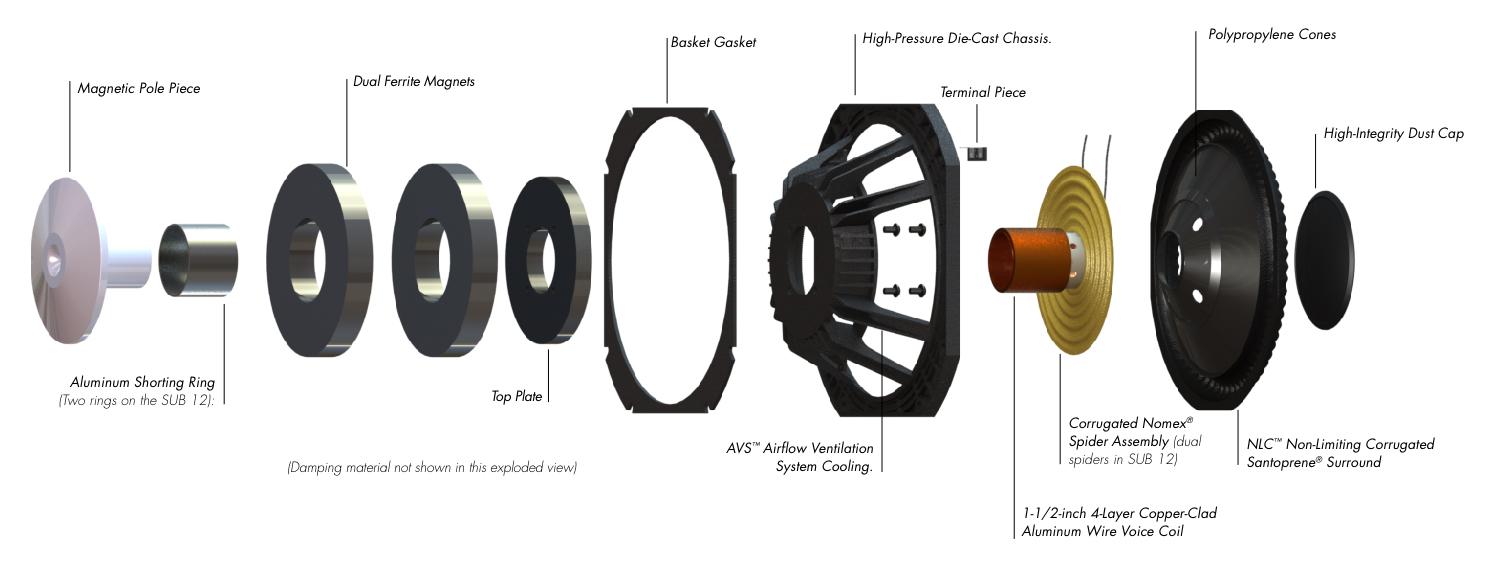 headphone speaker wiring diagram paradigm   monitor sub 10 overview  paradigm   monitor sub 10 overview