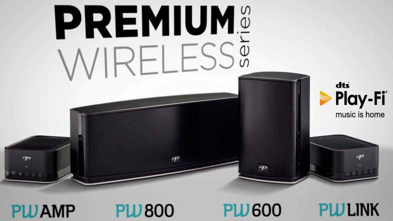 Wireless Speakers from Paradigm | Whole-House Music with DTS Play-Fi